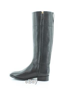 Tory Burch Junction Riding Boot Black Womens Shoes Size 7 M Boots MSRP $495
