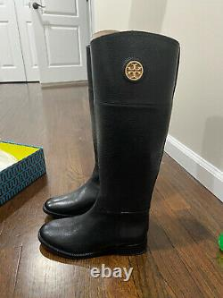 Tory Burch Junction Riding Boots Size 7 BRAND NEW NEVER WORN