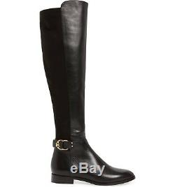 Tory Burch MARSDEN Over The Knee Stretch Riding Boots Flat Equestrian Booties 9
