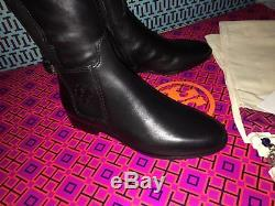 Tory Burch WYATT Leather Riding Boot Flat Boots OVER THE KNEE 6.5 / 7.5 / 8 / 9