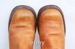 VTG 60's Black Tag Frye leather campus riding boots 7 B Awesome Vtg Patina