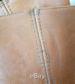 VTG 80's Frye Campus Black Label Brown Leather Riding Boot Womens Sz 8
