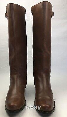 WOMENS BLONDO BOOTS Volly Waterproof Brown Leather Riding Knee High Zip Boot 11