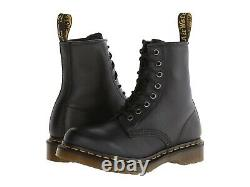 Women's Shoes Dr. Martens 1460 8 Eye Leather Boots 11821002 BLACK NAPPA