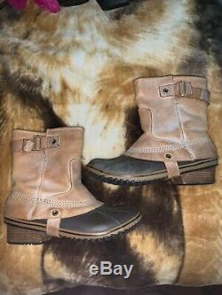 Womens Sorel Slimpack Riding Short Boots -Equestrian, Waterproof Size 10